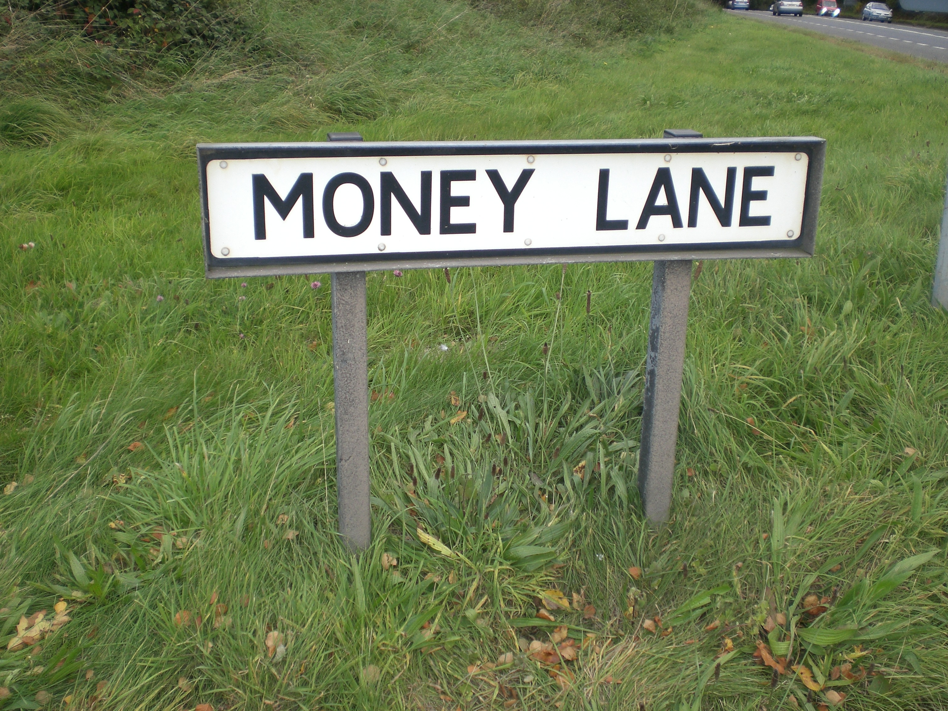 Money Lane which leads to the Bromsgrove Conference